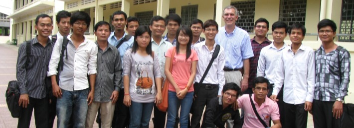 CDC supports Mathematics Master Program in Cambodia