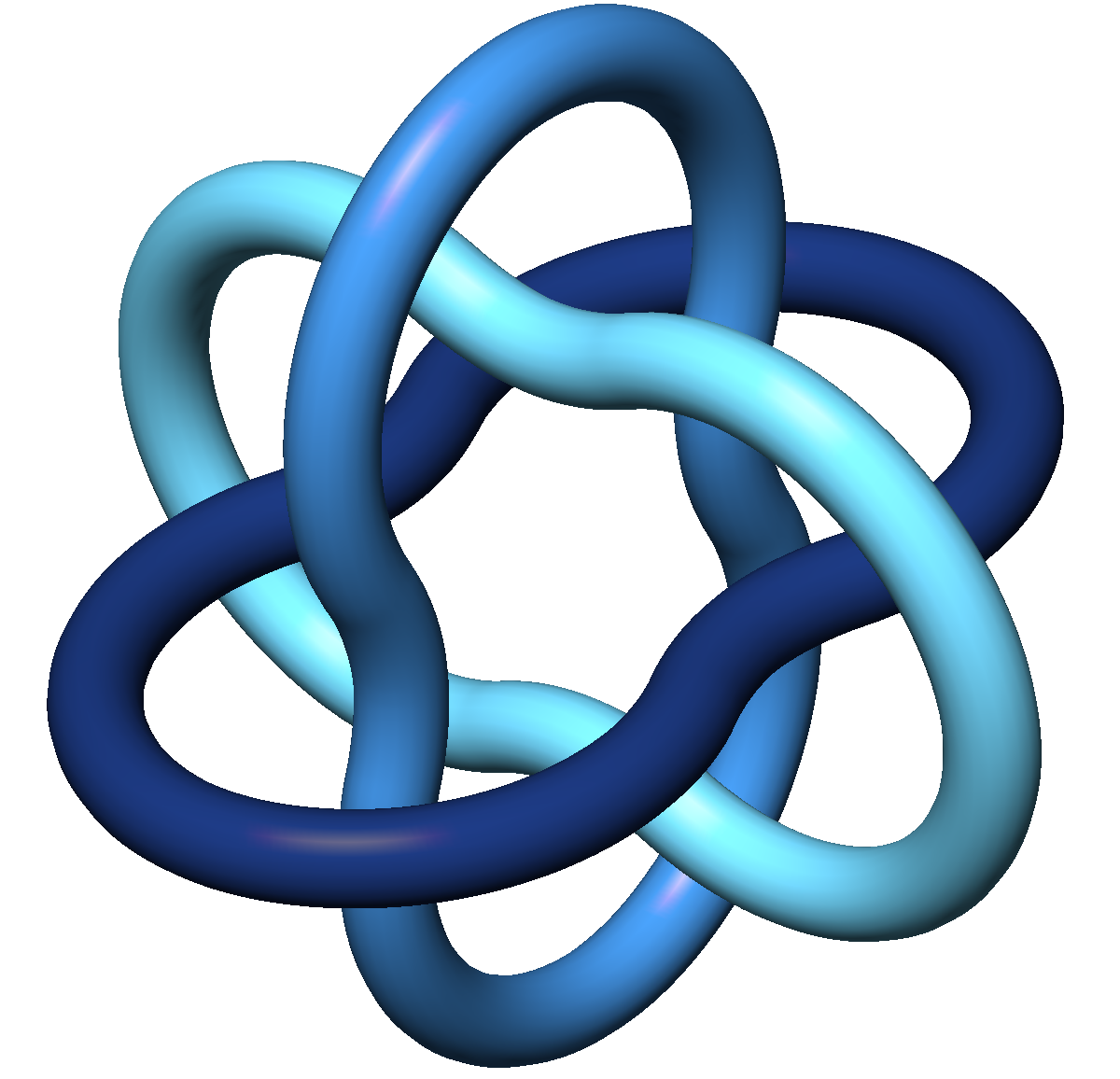 new imu logo based on the tight borromean rings