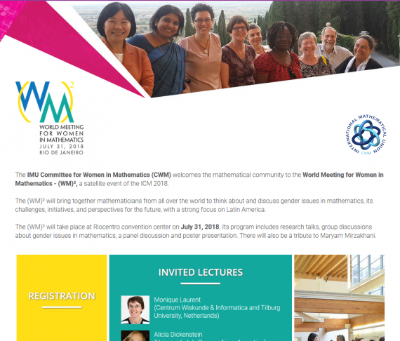 World Meeting for Women in Mathematics